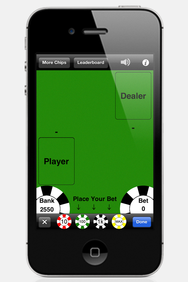 Screenshot Blackjack‰